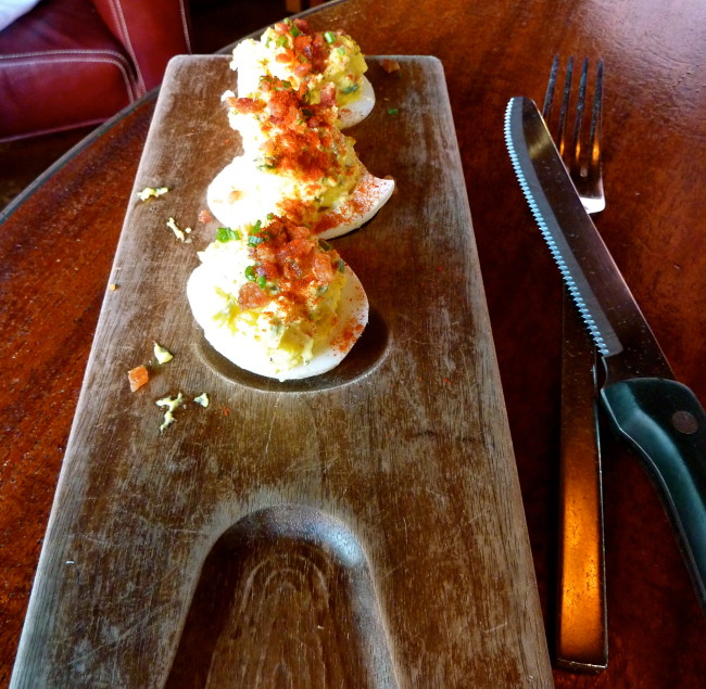 Deviled Eggs at La Grande Orange Pasadena