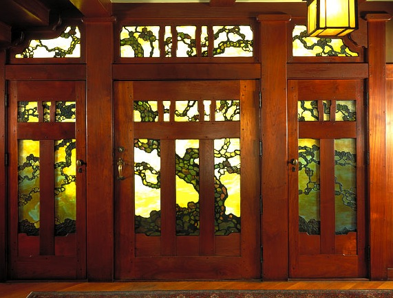 The Gamble House Photos porter-frontdoor