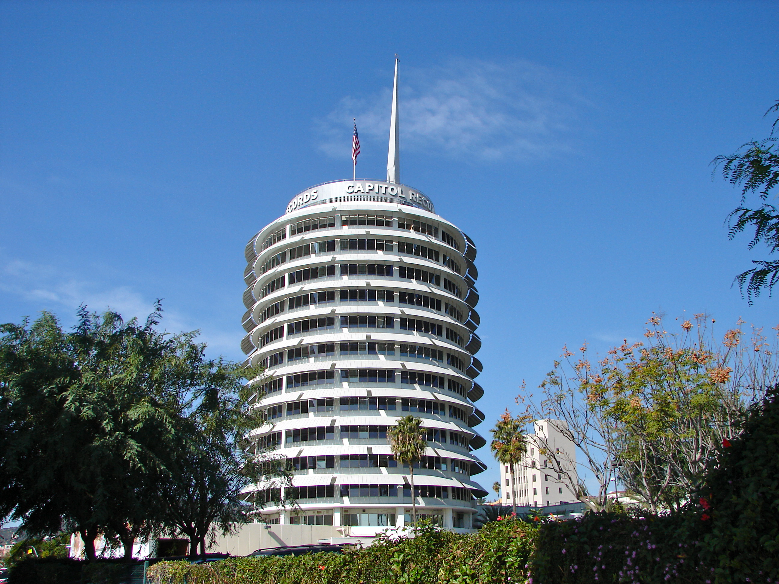 Capitol Records Building Hollywood Travels With Mai