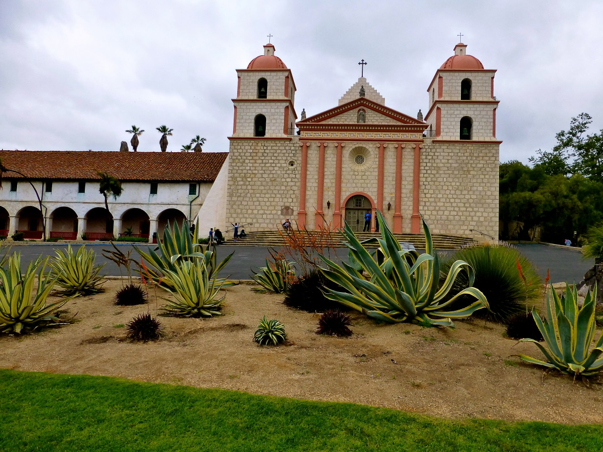Old Mission Santa Barbara - Travels With Mai Tai Tom