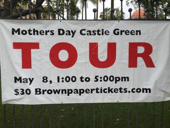 Mother Day Tour Castle Green Pasadena