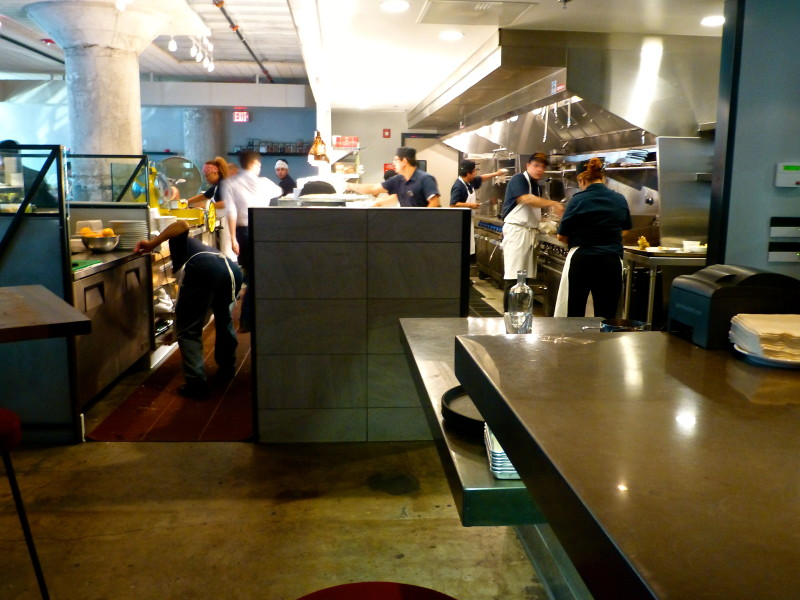 Now On To The Real Reason You Want To Visit The Factory Kitchenu2026the Food,  Prepared In An Open Kitchen. The Big Trend In Dining It Seems Continues To  Be ...