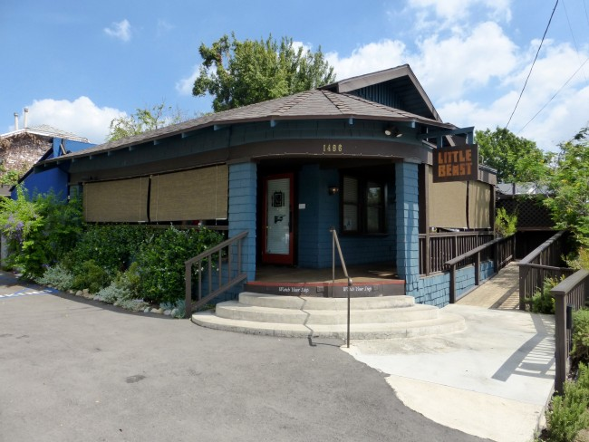 Little Beast Eagle Rock Restaurant Exterior Photo