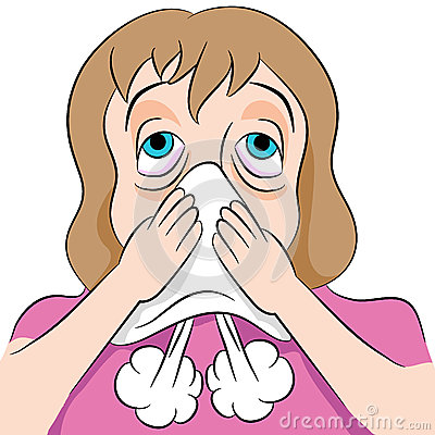 blowing-nose-woman-image-her-46518139