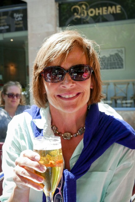 Mary beer lunch