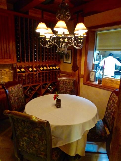 Private Dining Room Delius Restaurant