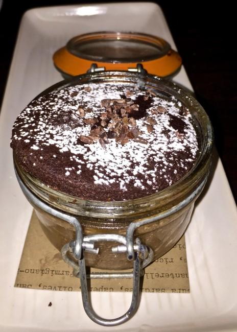 Gianduja Chocolate Budino