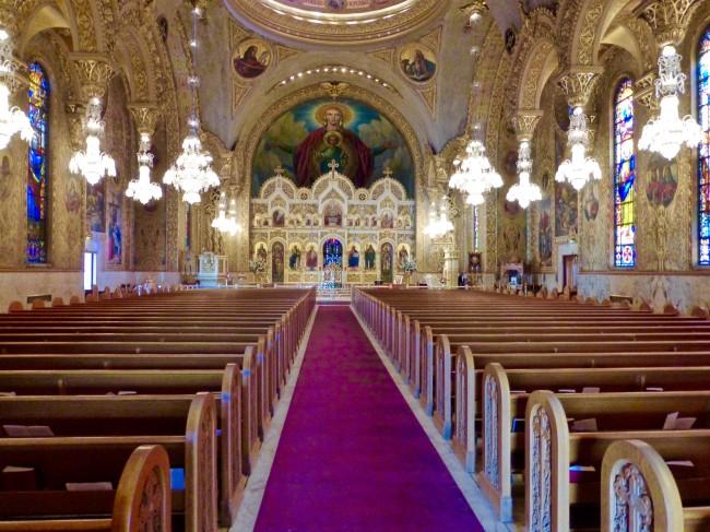 St Sophia Cathedral Interior