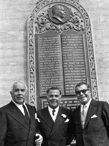 charles-p-skouras-with-brothers-spyros-and-george-posing-by-plaque