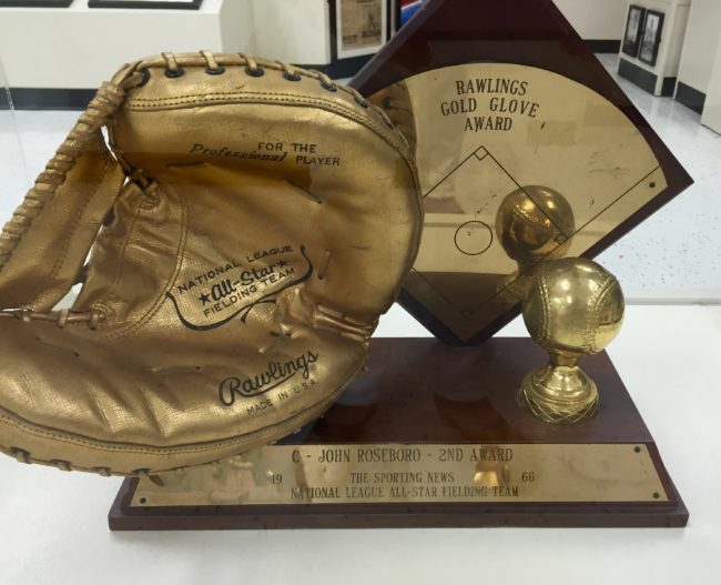 14 Roseboto Gold Glove