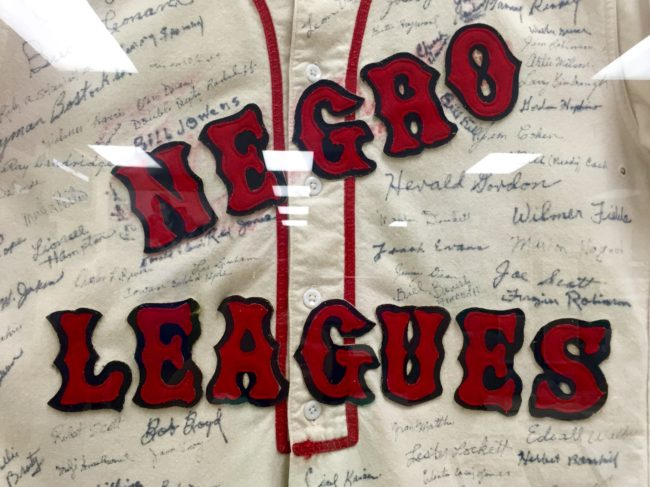 Negro Leagues Memorabilia Sports Museum Los Angeles