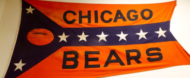 Chicago Bears Memorabilia Sports Museum Los Angeles