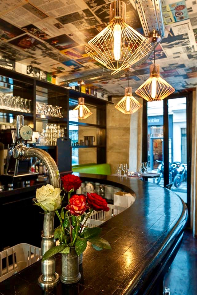 Restaurant L Ange  Paris