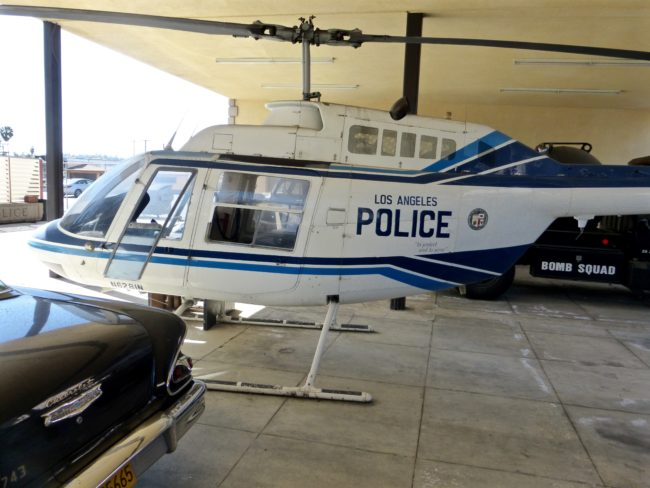 LAPD Helicopter LAPD Museum
