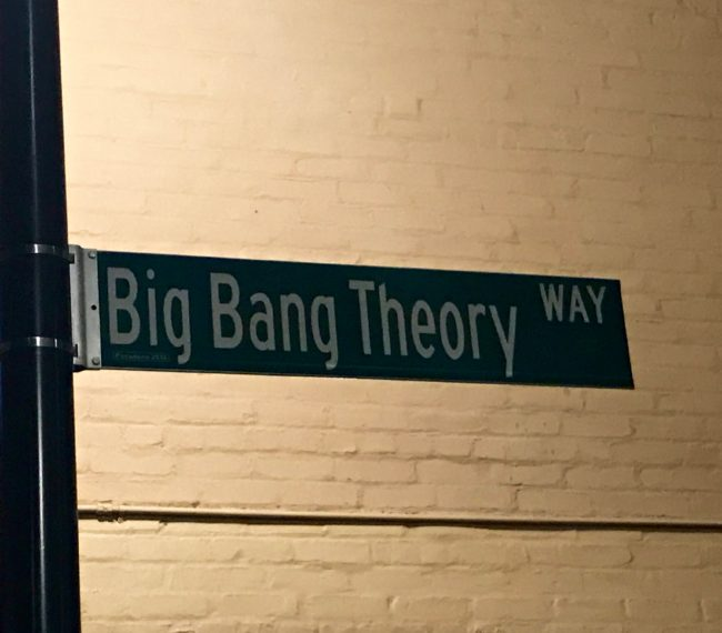 Big Bang Theory Way Pasadena
