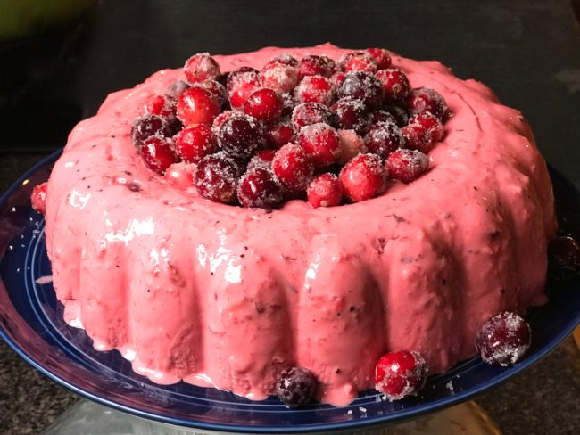 cranberry mousse recipe
