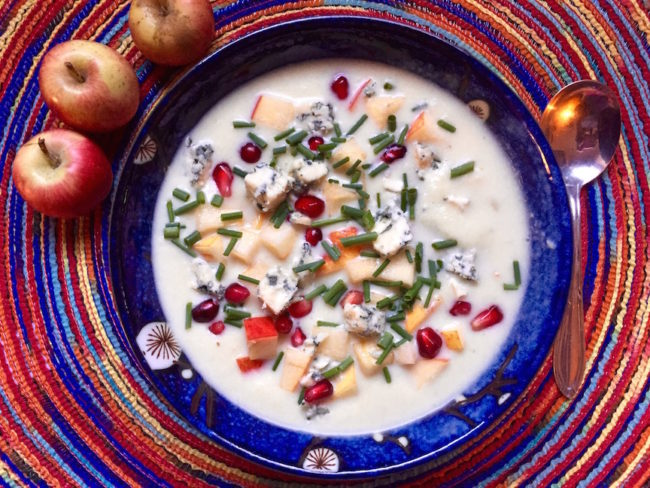 Blue Cheese Apple Soup Recipe