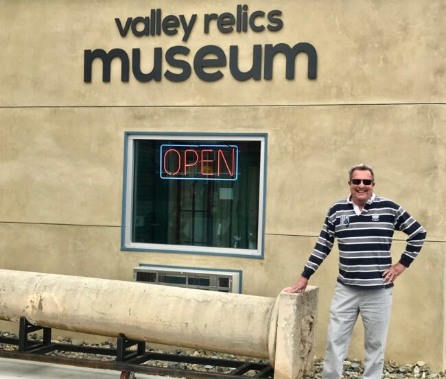 Valley Relics Museum Sign Exterior