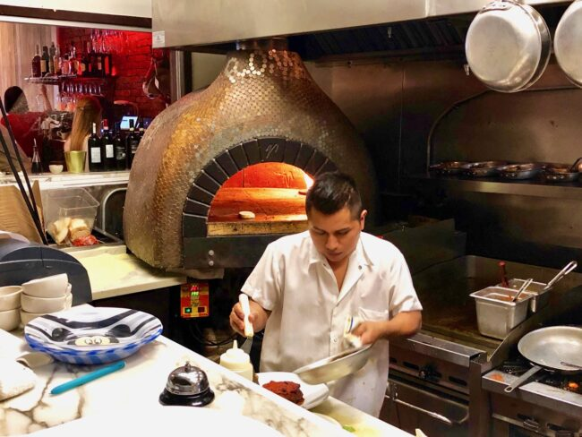 Roma Antica San Francisco Cook Inside the Kitchen